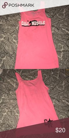 Cali Muscle Tank Top. Size L. Good Condition. Cali Muscle Tank Top. Size L. Good Condition. Cali Muscle Tops Tank Tops