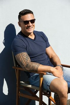 Sonny Bill Williams: down to his denims