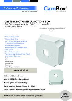 CamBox Güvenlik Kamera Buatı Yüksek Kalite...