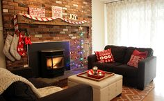 Holiday Home Tour Sans the Tree House Tours, Holiday, Christmas, Joy, Home Decor, Xmas, Vacations, Weihnachten, Yule