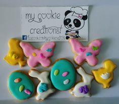 Las mini galletas de #easter  Gracias a todos mis clientes que ya me piden las mini galletas para cada ocasión especial. Son deliciosas!!! 🐣🐥🐤🐰🐇🍪❤😍😀😋🐼 #MiniGalletas #EasterCookies #minicookies #mycookiecreations #cookies