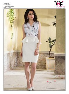 28498817c93ea YNF ZARA VOL 2 FANCY TOP WESTERN WEAR COLLECTION WHOLESALER IN SURAT  GUJARAT