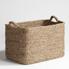 Raga Rectangular Woven Basket