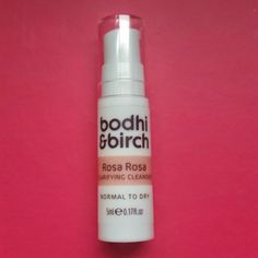 As many of you will know, Bodhi & Birch released their Rosa Rosa collection in Summer. Ever since I have been swooning over them, waiti. Cleanser And Toner, Cleansers, Personal Care, Mini, Beauty, Personal Hygiene, Beauty Illustration