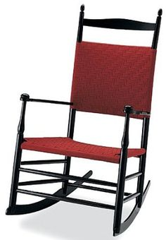 """This faithful reproduction of the rockers manufactured by the Mt. Lebanon Shakers for sale to the """"World's People"""" reflects the finest aspects of Shaker design and craftsmanship. The high back, smooth turnings, and flowing curves have made them popular for generations. more: http://foter.com/nursing-chairs/"""