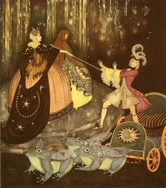 Edmond Dulac. Fairy Tales / Bluebird