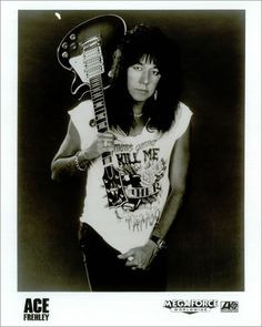Ace Frehley Press Kit Photo https://www.facebook.com/FromTheWaybackMachine