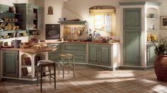 arredamento antico di campagna   La cucina della tradizione - Cucine Classiche