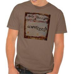 daily reminder awareness mens t-shirt