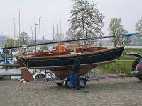 HD24 als Kielversion Small Sailboats, Build Your Own Boat, Yachts, Sailing, Sailing Ships, Candle, Ship