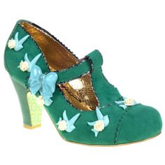 Beautiful Fresh Cut Grass Shoes by Irregular Choice http://poniesandteacups.wordpress.com/2013/05/22/beautiful-shoes-irregular-choice/