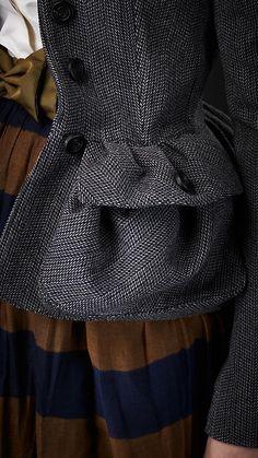 Burberry: Tweed Country Jacket