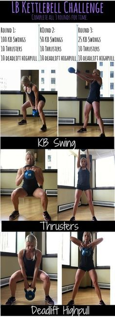 This Kettlebell HIIT workout will leave you exhausted and sweaty! It combines strength training and high intensity moves to ramp up your metabolism and tone and strengthen your legs and arms!
