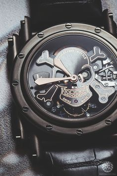True skeleton watch