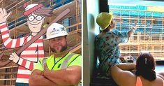 Un trabajador de la industria de la construcción llamado Jason Haney quiso darles un poco de alegría a los niños del hospital y esconde todos los días a Wally