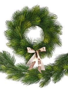 Majestic Pine wreath and garland | Balsam Hill