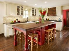 kitchen island idea with seating