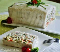 Torta Fria Vegana - Veganana