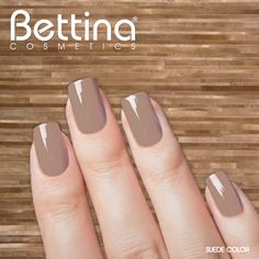 "Color neutral que combina bien con todo, así es nuestro #Bettina Nail Enamel en color ""Suede"" #nailpolish #nailenamel"