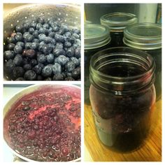 Homemade blueberry jam -- easy to make, no canning needed!