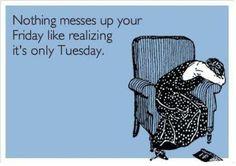or Thursday..