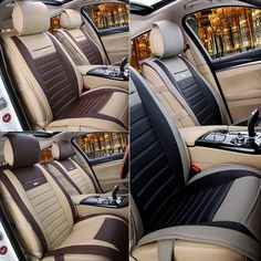 Nice Awesome For Nissan Rogue Car Seat Cover Cushion Mat Well 5 Protect PU