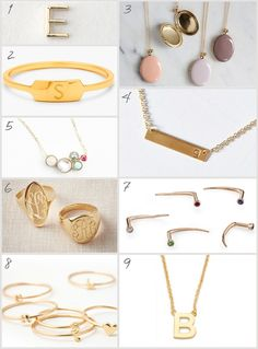 The Prettiest Personalized Jewelry | Cupcakes & Cashmere
