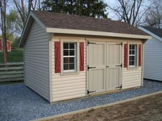 Garden Sheds Vinyl lifetime 15x8 plastic storage shed kit w/ double doors (60079