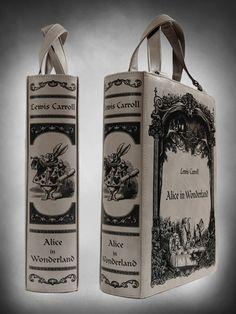 alice in wonderland Tote Bag | Alice in Wonderland Book Bag!