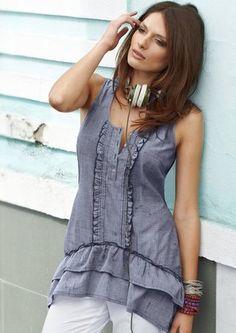 Longtop von Aniston Tunic Tops, My Style, Casual, Dresses, Fashion, Fashion Styles, Vestidos, Moda, Dress
