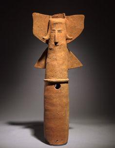 Ceramic Haniwa in the Form of an Archer, c. 500, Japan, Kofun Period (c. 3rd century-538)