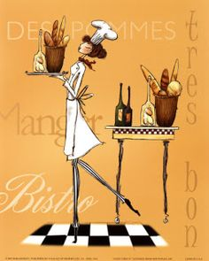 Chief-cook 1 for decoupage - Marina V - Picasa Web Albums Framed Art Prints, Framed Artwork, Fine Art Prints, Chad Barrett, Images Victoriennes, Arte Country, Vintage Poster, Vegan Christmas, Christmas Menus