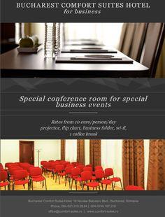 Good deals for great business! Business Events, Business Travel, Business Folder, Bucharest, Hotel Offers