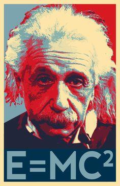 Albert Einstein Scientist Illustration - Physicist Science Icon Pop Art Home Decor in Poster Print or Canvas Science Icons, Pop Art Illustration, Canvas Art, Canvas Prints, E Mc2, Arte Pop, Artwork Design, Custom Art, Classic Rock
