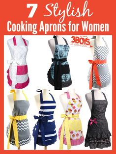 7 Stylish Cooking Aprons for Women