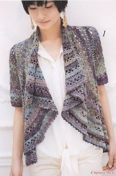Crochet drape front circular bolero or jacket  9404496_73318thumb500 (462x700, 247Kb) - Diagrams