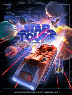 Star Tours - The Adventures Continue poster