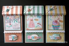 for Crafter's Companion - Camden Town Boutique Cards Products used: Camden Town CD (Female) Core'dinations Card Stock Centura Pearl Card (Snow White Hint of Gold) Scallop punch or edge die Oval die or punch Collall Glue Gel Collall All Purpose Stickles Glitter Glue Gems, flowers, etc for embellishment.
