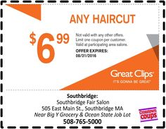 10 Best Great Clips Coupons Ideas Great Clips Coupons Coupons Clips