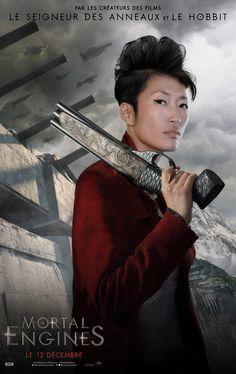Jihae incarnera le personnage d'Anna Fang dans Mortal Engines.