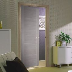 Bespoke Light Grey Vancouver Fire Rated Door - Prefinished.    #greydoor #internaldoor #moderndoor #door #interiordesign