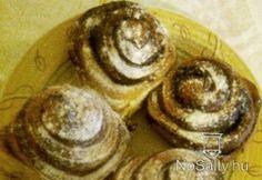 Kakaós csiga Dézi konyhájából Pancakes, Breakfast, Food, Morning Coffee, Eten, Meals, Pancake, Morning Breakfast, Crepes