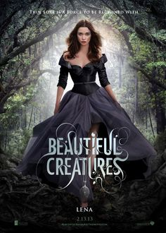 Beautiful Creatures Character Poster: Alice Englert as Lena Duchannes - In Australian cinemas tomorrow! Mia Wasikowska, Movies Showing, Movies And Tv Shows, Beautiful Creatures Series, Creature Movie, Galera Record, Alice Englert, Sublime Creature, Kino Film