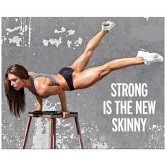 Strong is the new skinny fitness workout exercise workout motivation exercise motivation fitness quote fitness quotes workout quotes Sport Motivation, Fitness Motivation, Fitness Quotes, Fitness Goals, Skinny Motivation, Motivation Quotes, Exercise Motivation, Muscle Fitness, Fitspiration