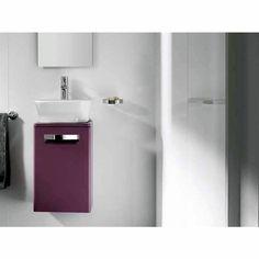 Purple bathroom unit.    Roca The Gap Basin Unit (Grape). Buy Bathroom Vanity Units & Basin Units from UK Bathrooms