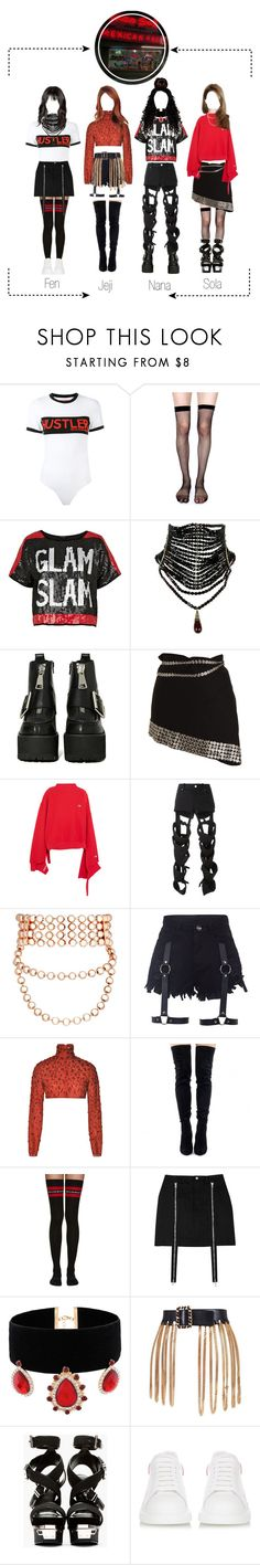 """""""MILA - """"(내 것이 좋다) BE MINE"""" M/V Part 2"""" by mila-offical ❤ liked on Polyvore featuring Hood by Air, Lip Service, River Island, Jeffrey Campbell, Ann Demeulemeester, Vetements, Nasir Mazhar, Fallon, Prabal Gurung and Chanel"""