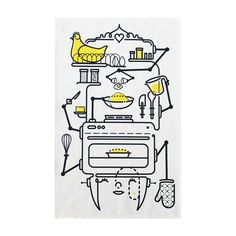 Bakematic is part smiley-lady and part mean baking-machine.