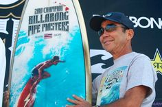 A showcase of the Pipe Masters trophy surfboard by artist, Phil Roberts and legendary surfer and shaper, Gerry Lopez, from 2008 to 2019 North Shore, Julian Wilson, John John Florence, World Surf League, Us Olympics, Kelly Slater, Surfer Dude, Surfboard Art