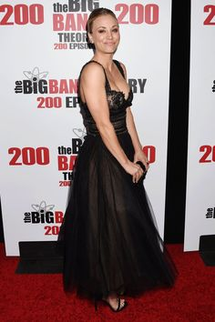 You'll Love How Excited Kaley Cuoco Was to Wear This Marchesa Dress
