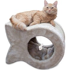 Kitty Cave Scratcher -- Click on the image for additional details. (This is an affiliate link and I receive a commission for the sales) #MyCat